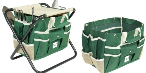Garden Tool Set w/ Stool, Bag & 5 Tools Just $19.99 Shipped (Regularly $53)