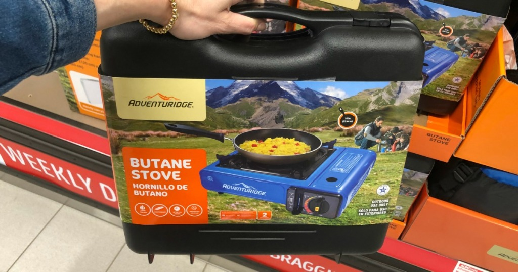 13 New Camping Essentials Available At Aldi Stove Hammock Hard
