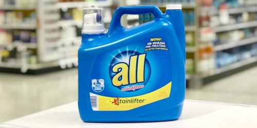 HUGE All Laundry Detergent Only $3.99 at Walgreens