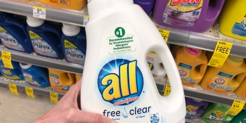 All & Snuggle Laundry Products Only $1.88 at Walgreens | Detergent, Fabric Softener & Dryer Sheets