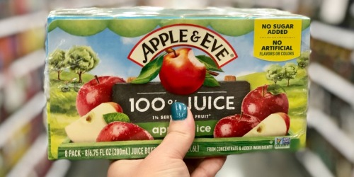 Apple & Eve Juice Boxes Only $1.66 Each at Target + More Kids Juice Deals