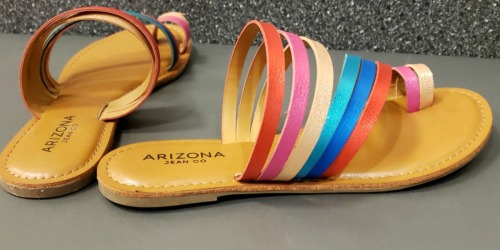Arizona Women's Sandals Only $12.75 Per Pair (Regularly $40) at JCPenney