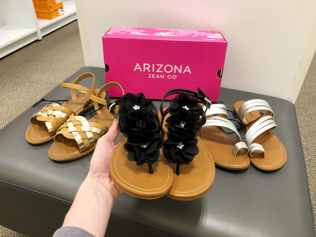 8553c3f7a5a7 Arizona Women s Sandals  17.99 (regularly  40) Use promo code SHOPNOW4 (20%  off) Final cost as low as  15.99!