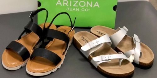 Arizona Women's Sandals as Low as $15.99 Each at JCPenney (Regularly $40)
