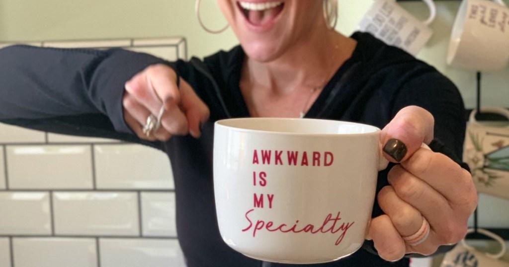 awkward is my specialty mug