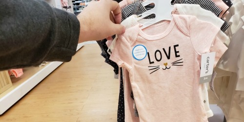 Carter's Bodysuit 5-Packs as Low as $9 Shipped for Kohl's Cardholders (Just $1.82 Each)