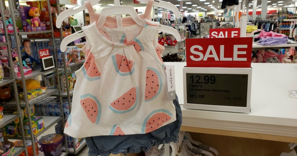 824bab599a Kohl s Cardholders  Carter s Baby Girls 3-Piece Shorts   Tees Set Only  9  Shipped (Regularly  26)
