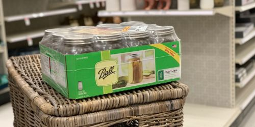 60% Off Ball Canning Jars at JoAnn | Great for Gift-Giving, Crafts & More