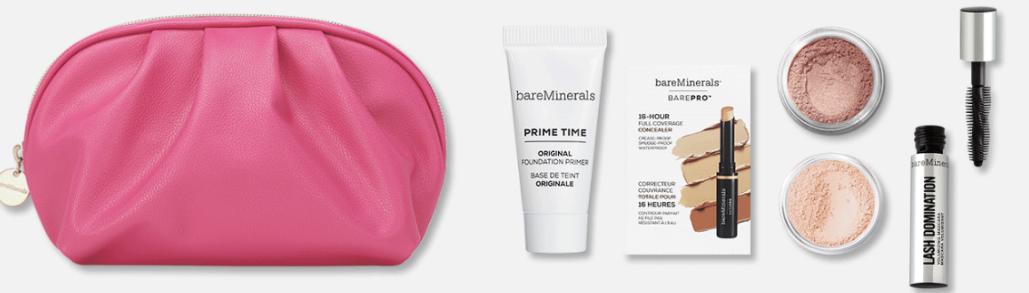 bareMinerals makeup free gift set offer