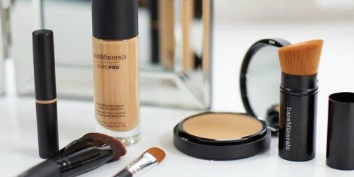 $188 Worth of bareMinerals Makeup Just $80 Shipped (Natural, Clean & Mineral-Based)