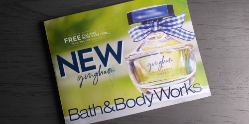 Check Your Mailbox for Possible Bath & Body Works Coupon & FREE Gift