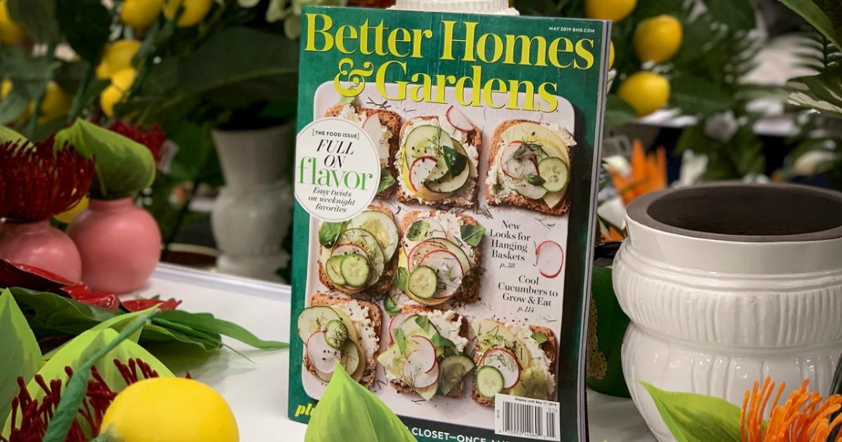 Better Homes & Gardens cookbook front