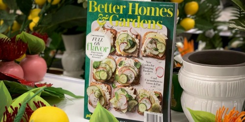 NO Cost Magazine Subscriptions: Better Homes & Gardens, People, O Magazine, & More