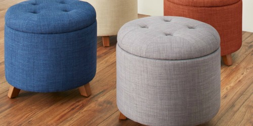 Walmart.com: Up to 50% Off Better Homes and Gardens Storage Ottomans & Benches
