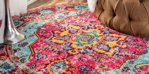 Up to 85% Off NuLOOM 5-Foot Round Rugs on Zulily