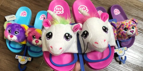 New Build-A-Bear Workshop Sandals Available at Walmart