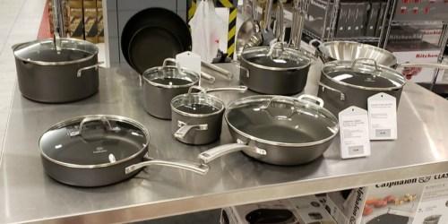 Macy's: Calphalon 10-Piece Cookware Set PLUS Bonus Pan w/ Cover Only $118.99 Shipped (Regularly $340)