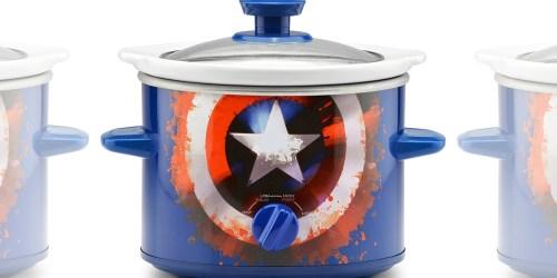 Marvel Captain America 2-Quart Slow Cooker Only $10 (Regularly $20)