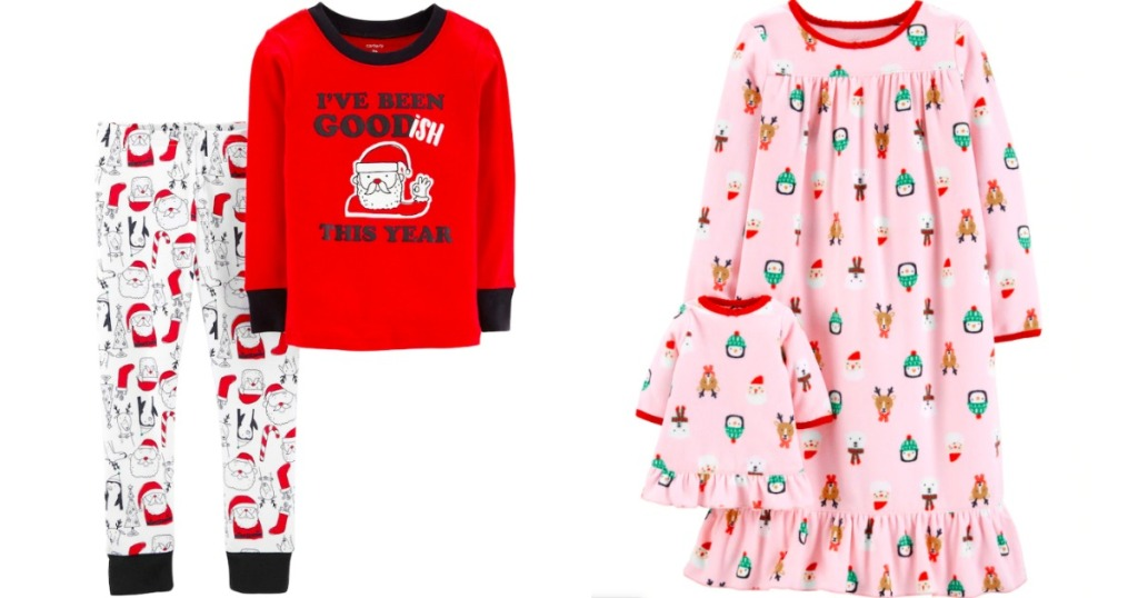 a1f69df92 Carter's Christmas Top & Bottoms Pajama Set $2 (regularly $20) Use your  exclusive 15% off promo code (text SAVE07 to 56457) Apply the 20% off  discount found ...