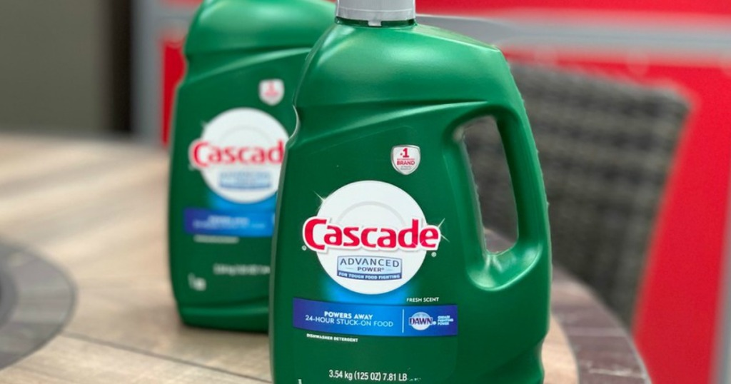 Costco Huge Cascade Dish Detergent 6 99 W Instant Savings