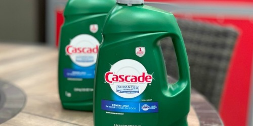 HUGE Cascade Liquid Dishwasher Detergent 125 Oz Bottle Only $6.99 at Costco (Powers Away Stuck on Food)