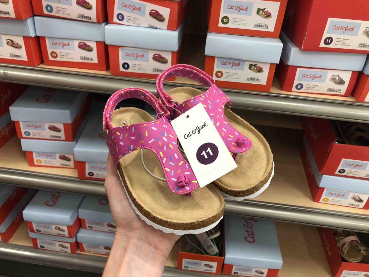 Cat \u0026 Jack Girls Sprinkle Sandals