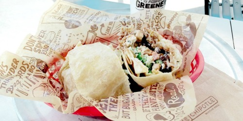 Chipotle Delivery Fee Only $1 for a Limited Time Only