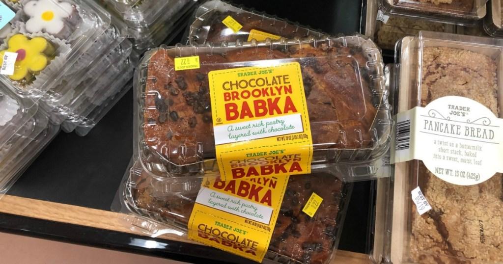 bakery products at Trader Joe's