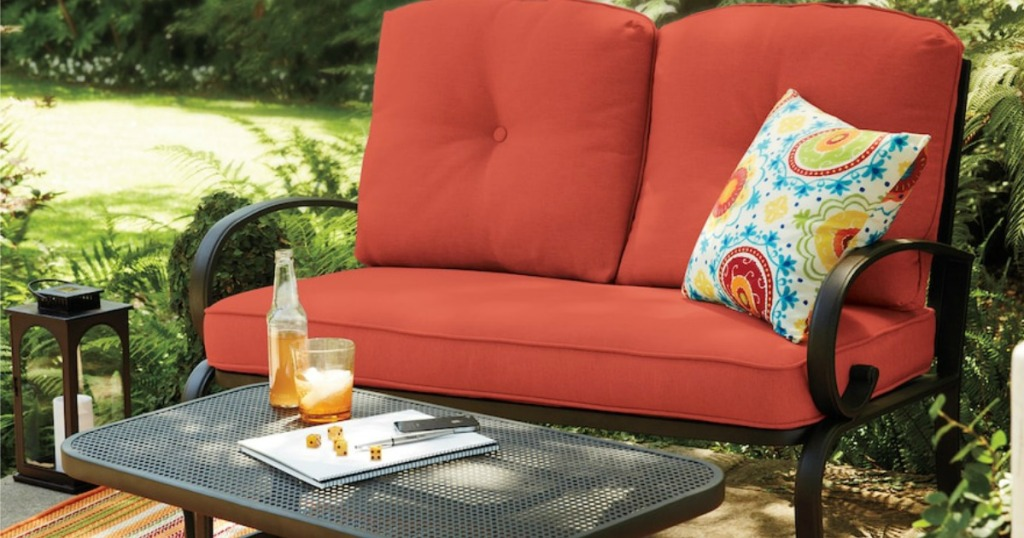 Sonoma Outdoor Loveseat Coffee Table Just 143 99 Shipped Get