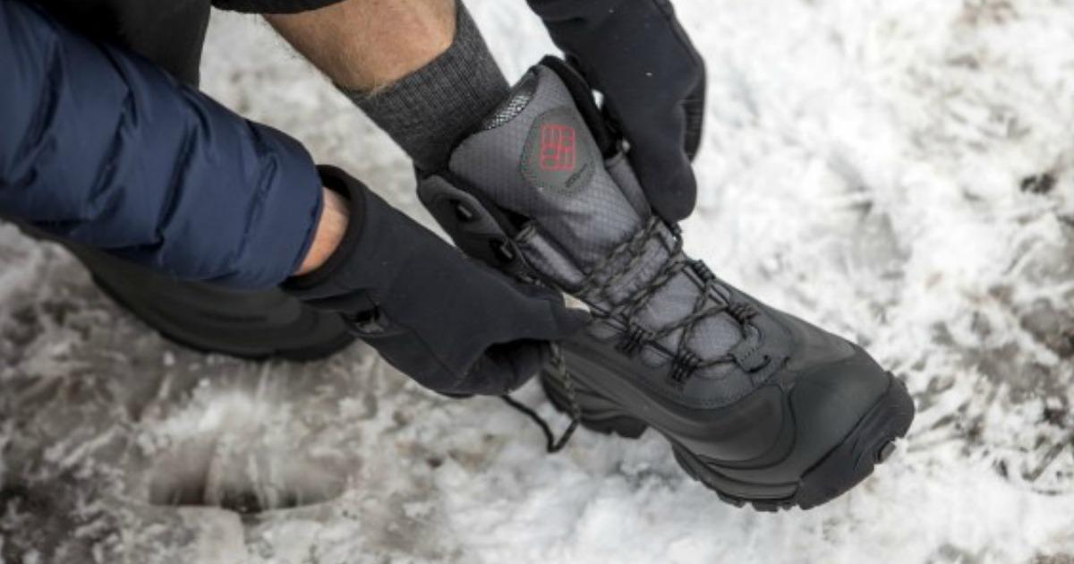 Columbia Men's Waterproof Winter Boots