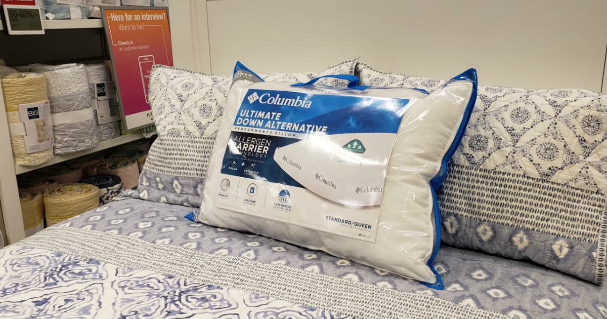 columbia bed pillows as low as 19 99