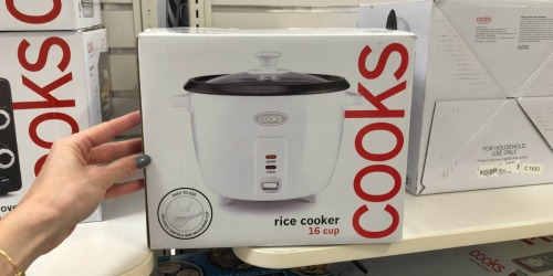 Cooks Rice Cooker, Toaster Oven & More Only $9.99 Each After JCPenney Mail-in Rebate