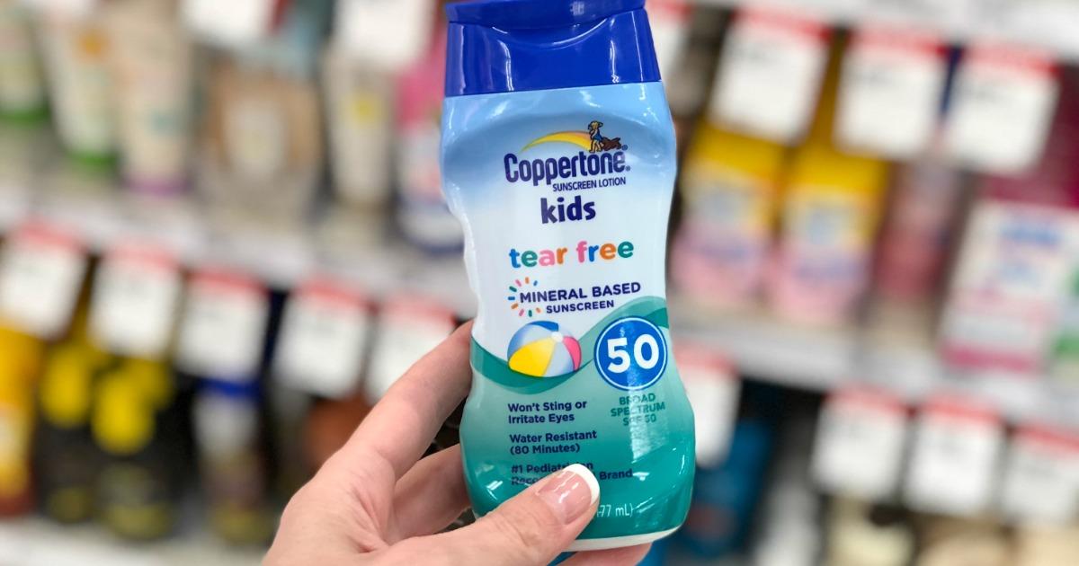 High Value $2/1 Coppertone Sunscreen Coupon