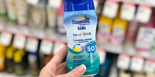 High Value $2/1 Coppertone Sunscreen Coupon