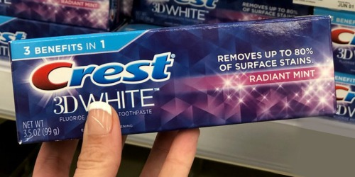 FREE Crest Toothpaste After CVS Rewards (Just Use Your Phone)