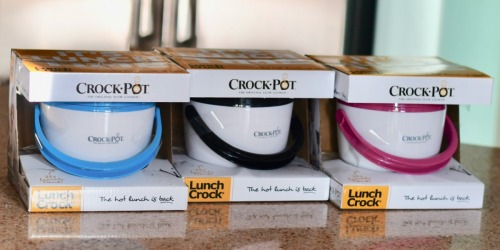 THREE Crock-Pot Lunch Crock Food Warmers Only $33 Shipped – Hot Lunch is Back!