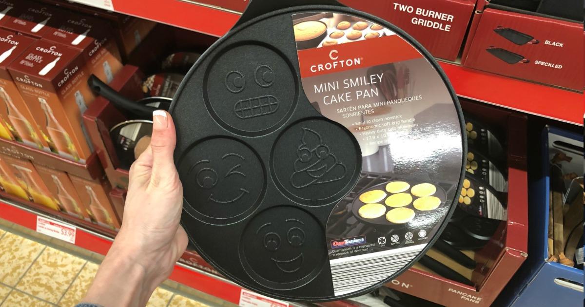 Mini Smiley Heavy Duty Pancake Pan Only 9 99 At Aldi