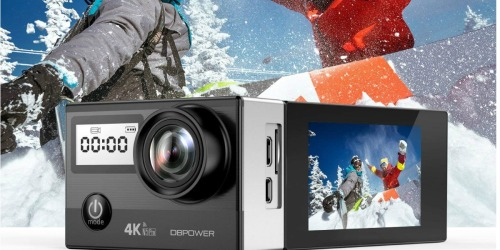 DBPOWER WiFi Action Camera Only $35.99 Shipped (Regularly $70) at Amazon