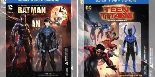 DC Animated Blu-ray Combo Packs as Low as $9.99 (Regularly $18+)