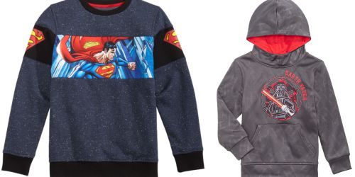 DC Comics Boys Hoodies as Low as $4.93 at Macy's (Regularly 36)