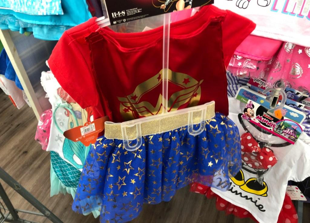 DC Superhero Toddler Girls 3pc Outfit Set