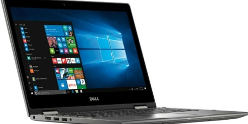 Dell 13″ Touch-Screen Laptop Only $499.99 Shipped (Regularly $800)