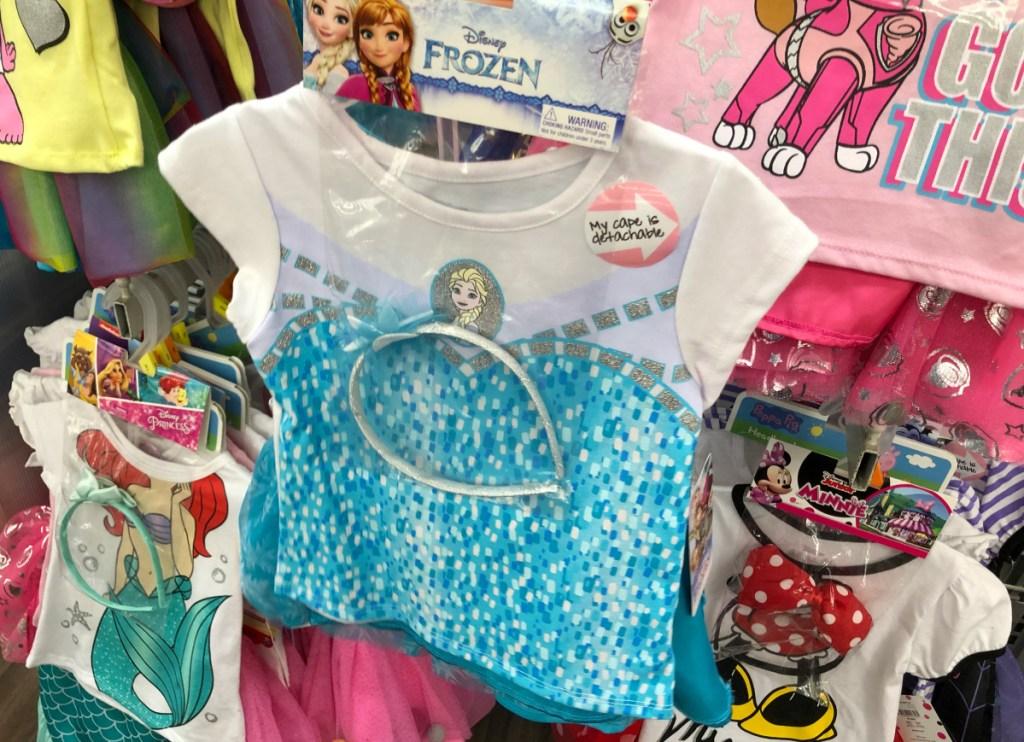 Disney Princess Toddler Girls 3pc Outfit Set
