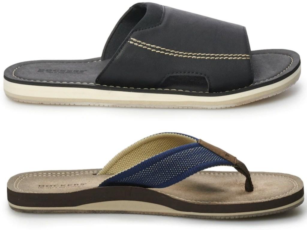Dockers Men's Slides or Flip-Flops Only $8.79 Each at Kohl ...