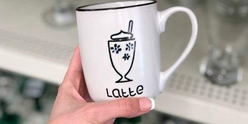 Latte & Cappuccino Mugs ONLY $1 at Dollar Tree