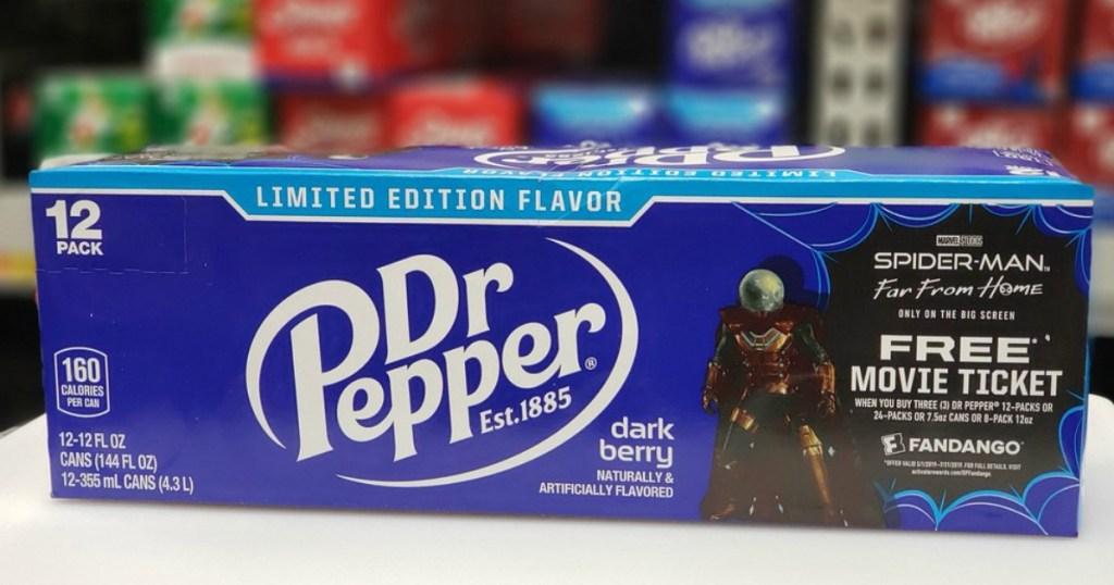 FREE $10 Fandango Movie Ticket w/ Dr Pepper Purchase