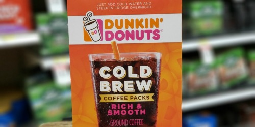 High Value $1.50/1 Dunkin' Cold Brew Coffee Coupon
