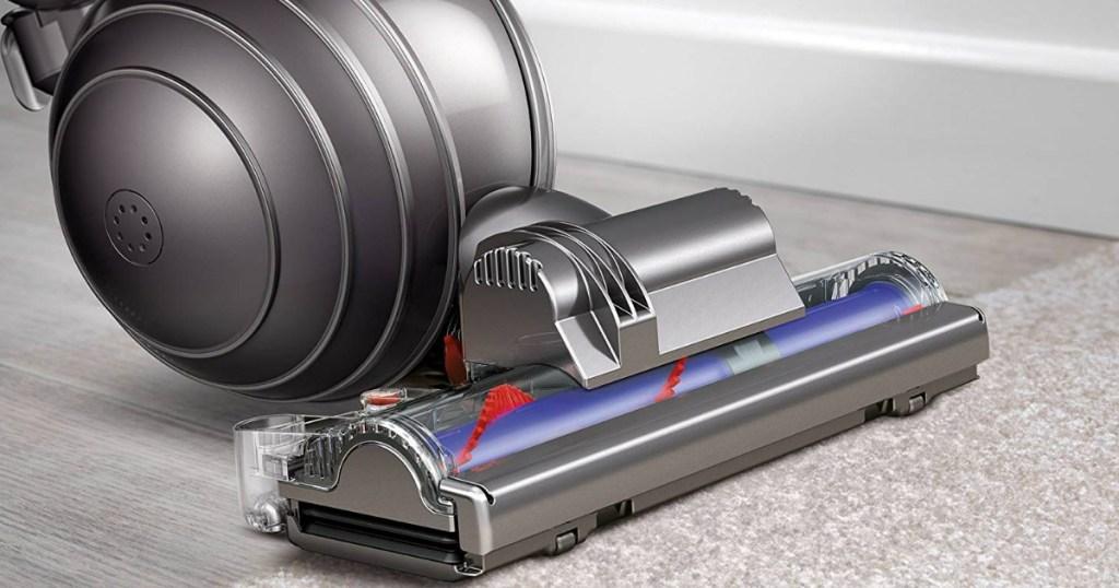 dyson ball vacuum vacuuming carpet