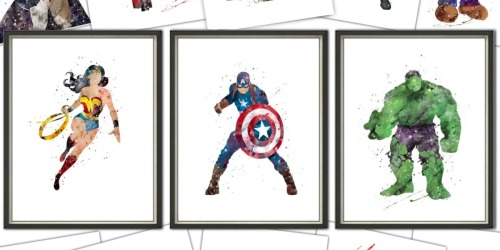 Epic Inspired Large Prints as Low as $5.49 Shipped (Regularly $18) – Star Wars, Iron Man & More