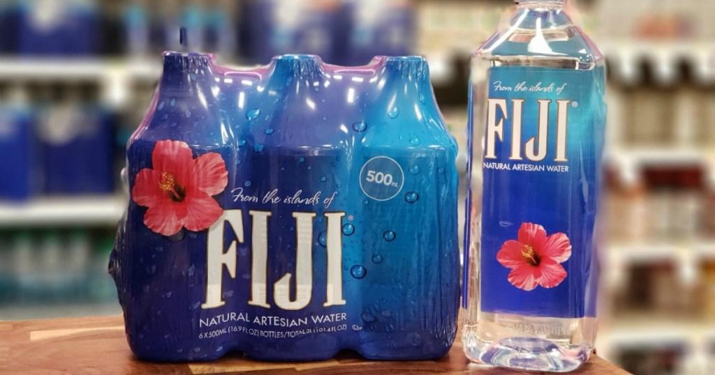 case of fiji water